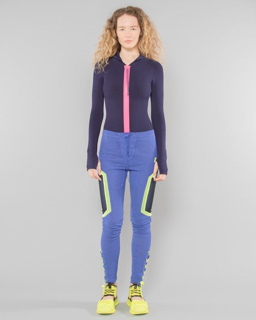 bc9d49455b FENTY Hood Zip Up Sweater Bodysuit by Puma