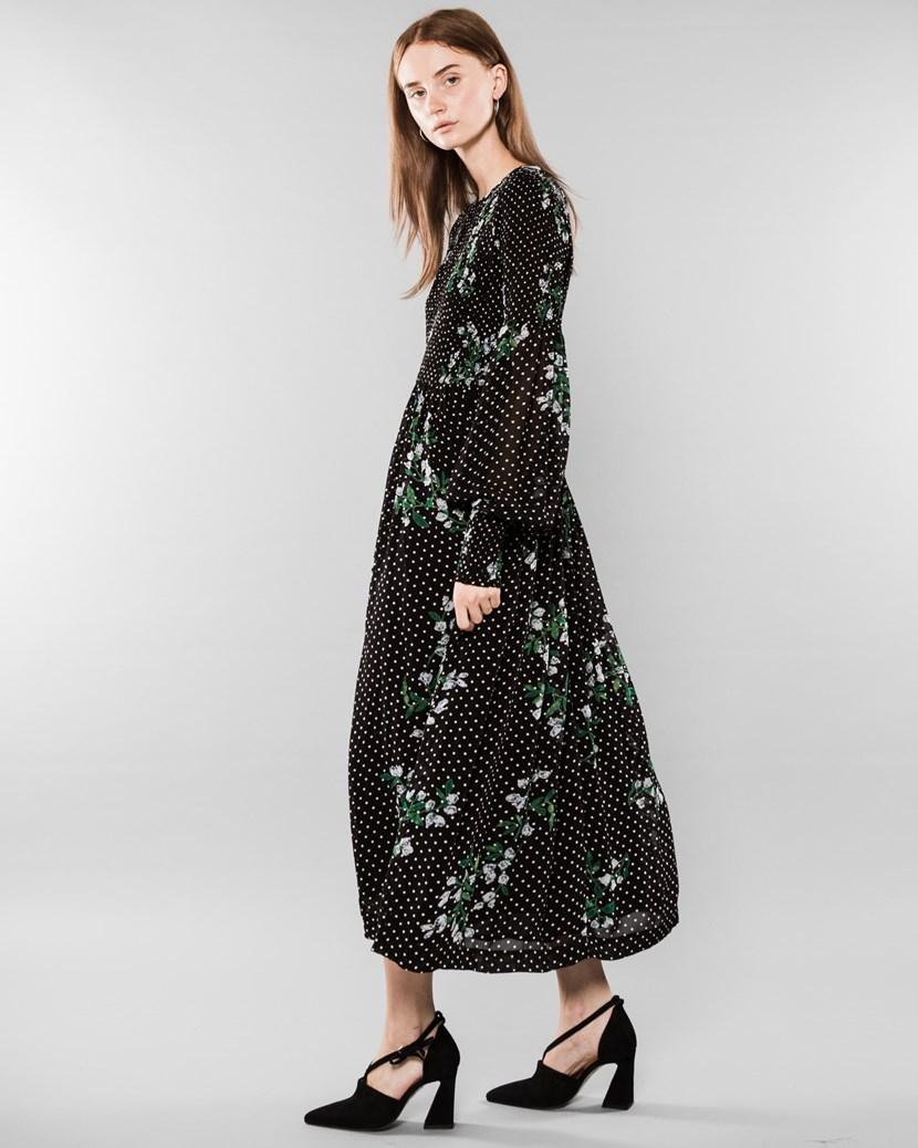 2ed9ab2dbb0a Rometty Georgette Smock Dress by Ganni
