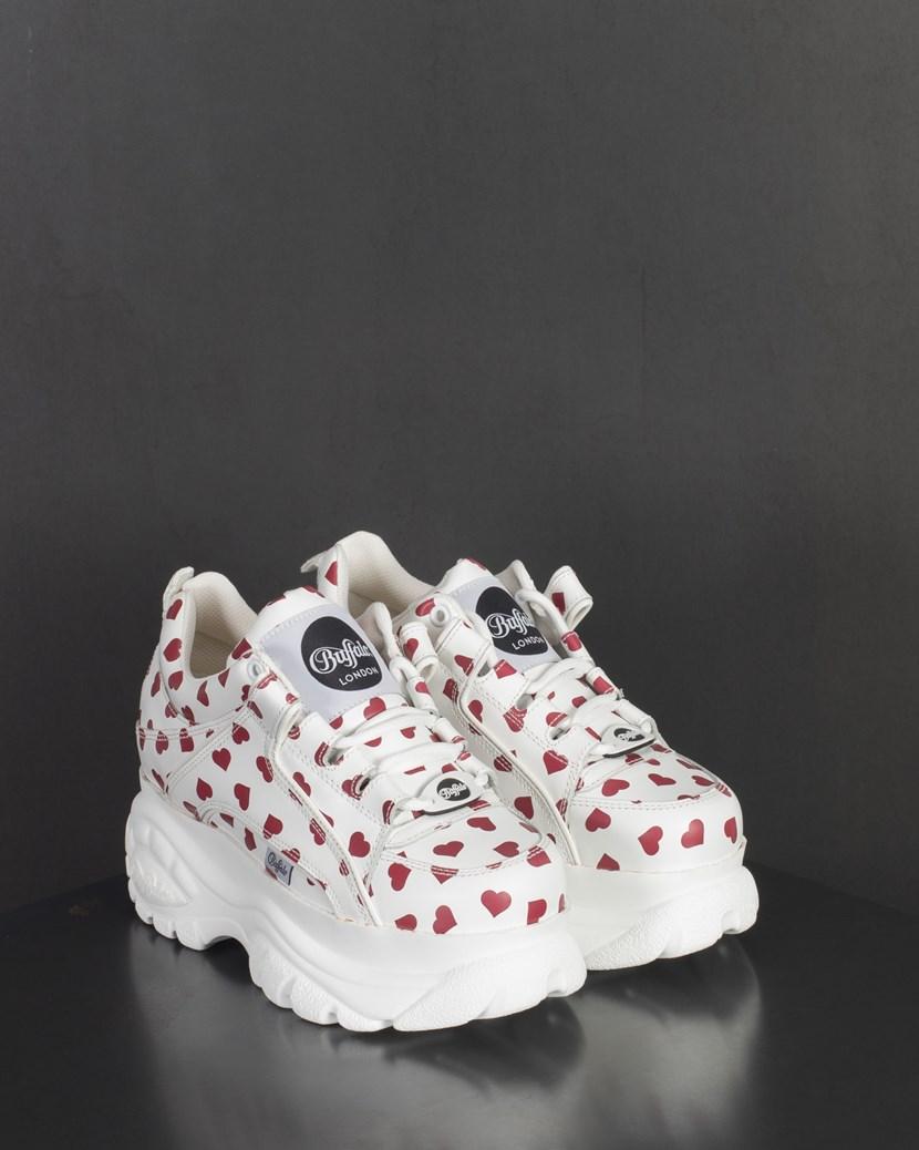 buffalo london heart sneakers