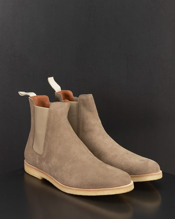 CHELSEA BOOT IN SUEDE TAUPE