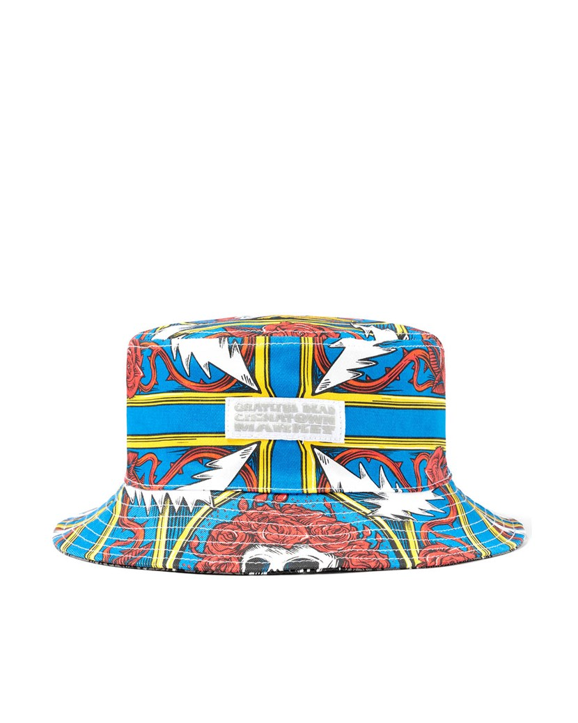 Border Bandana Bucket Hat